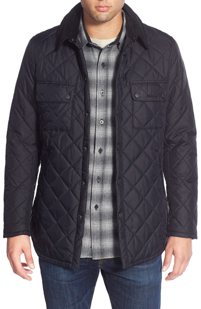 barbour 39 akenside 39 regular fit quilted jacket nordstrom. Black Bedroom Furniture Sets. Home Design Ideas