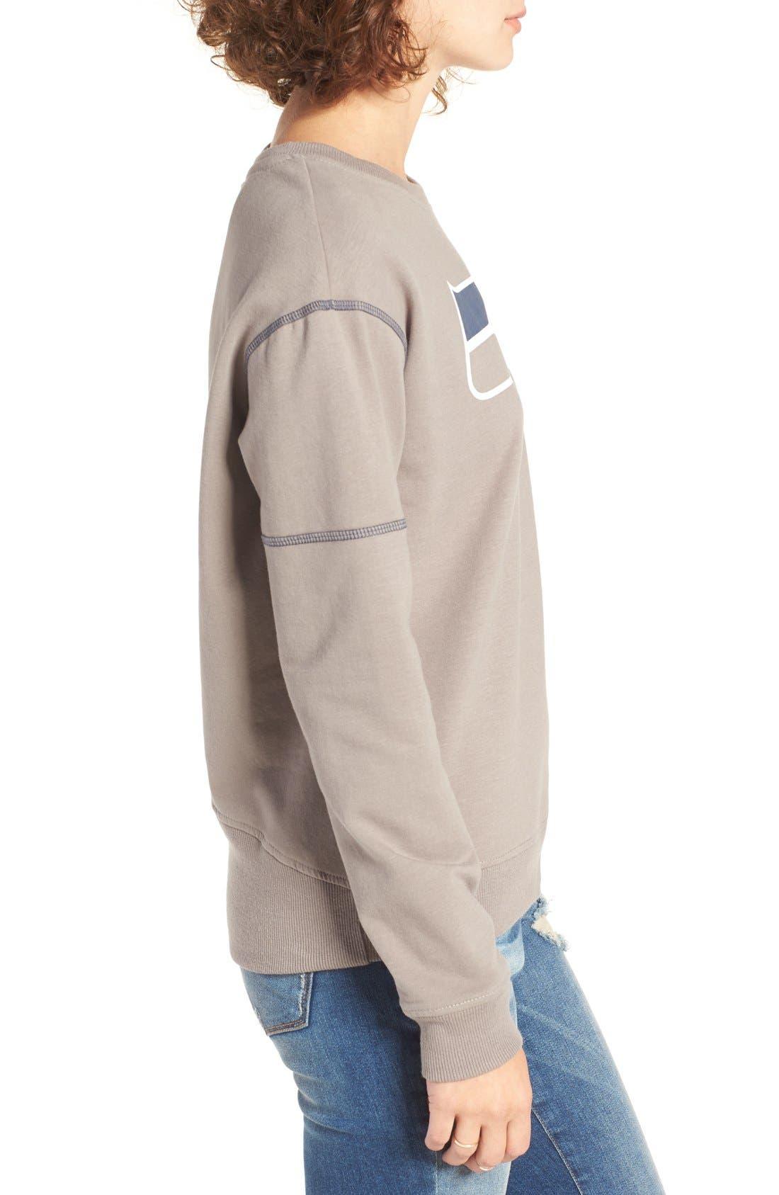 Alternate Image 3  - 47 Brand 'Seattle Seahawks' Graphic Sweatshirt