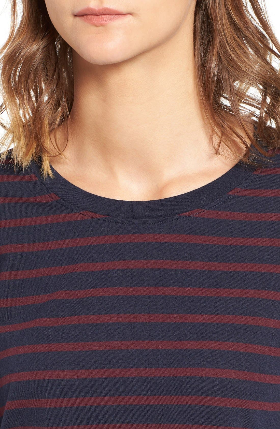 Alternate Image 4  - BP. Stripe Crewneck Tee