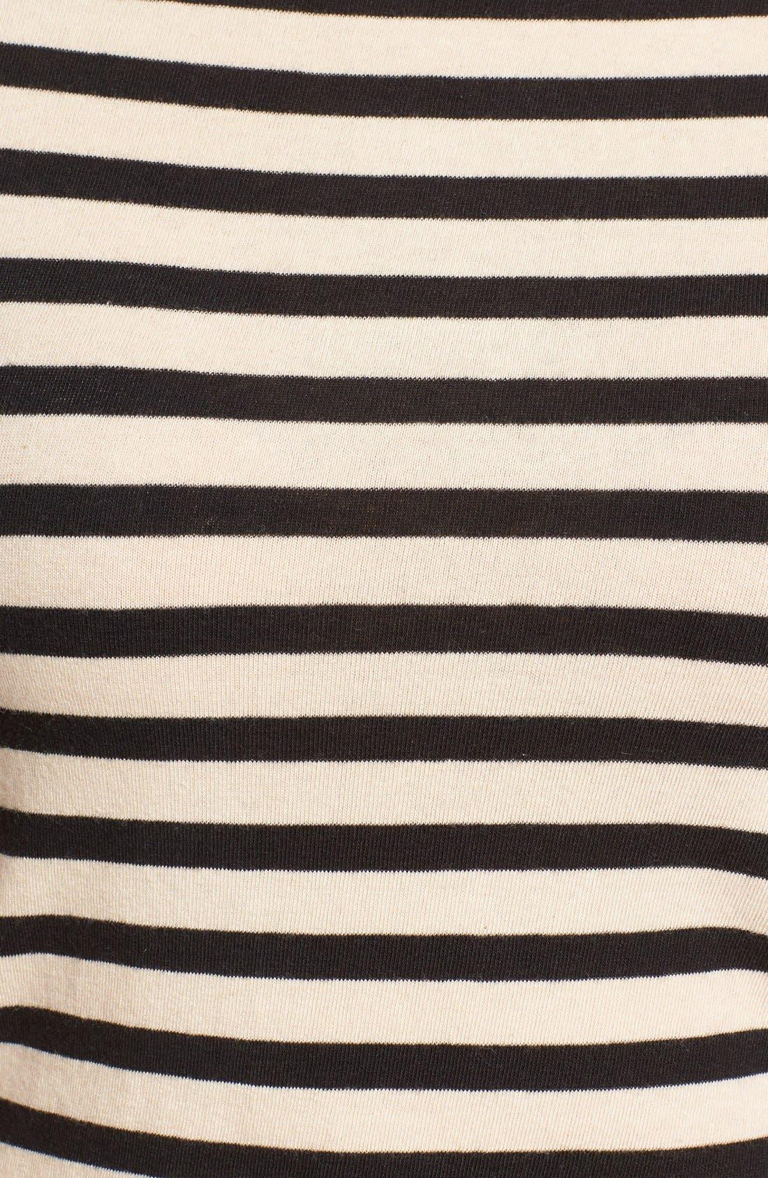 Alternate Image 5  - Madewell Chorus Stripe Scoop Back Tee