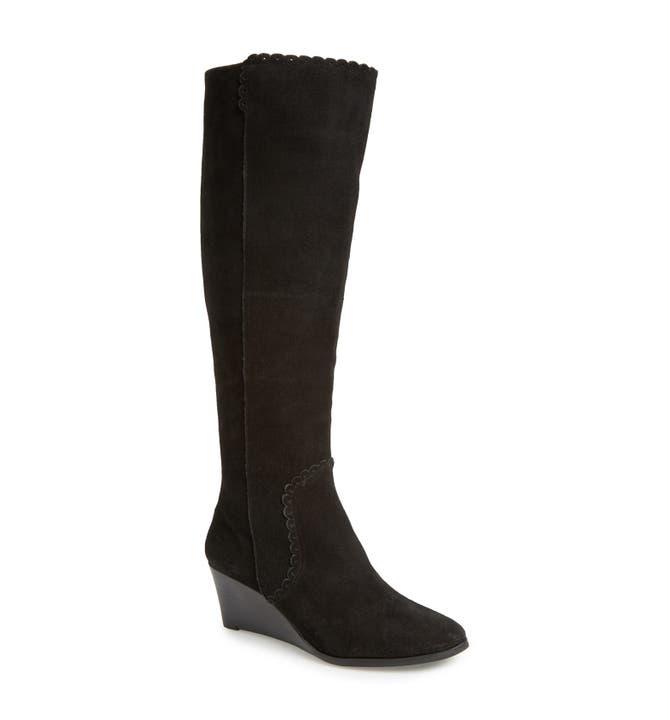Jack Rogers 'Mia' Knee High Wedge Boot (Women)   Nordstrom
