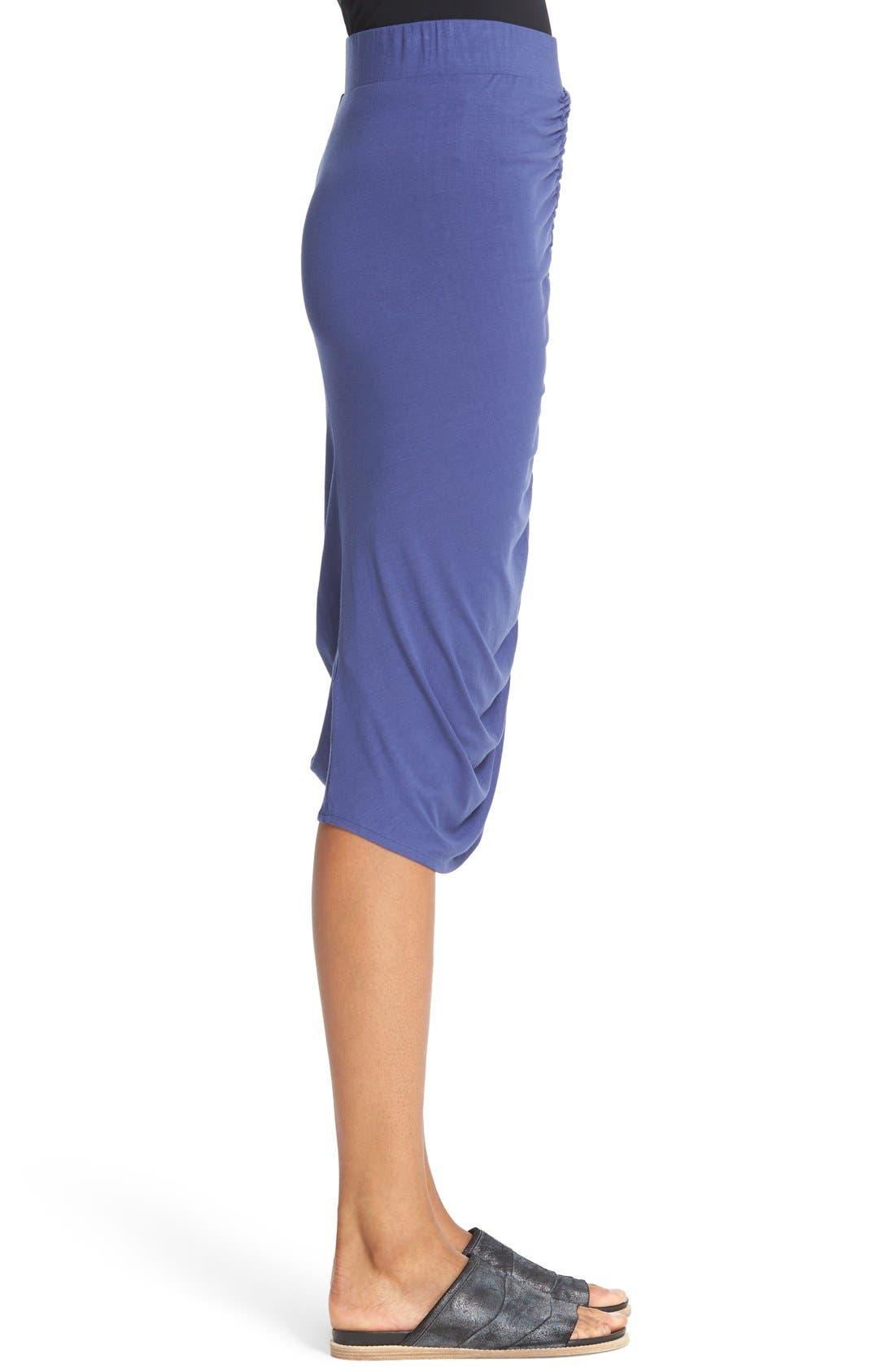 Alternate Image 5  - Zero + Maria Cornejo 'Kia' Ruched Sim Jersey Skirt