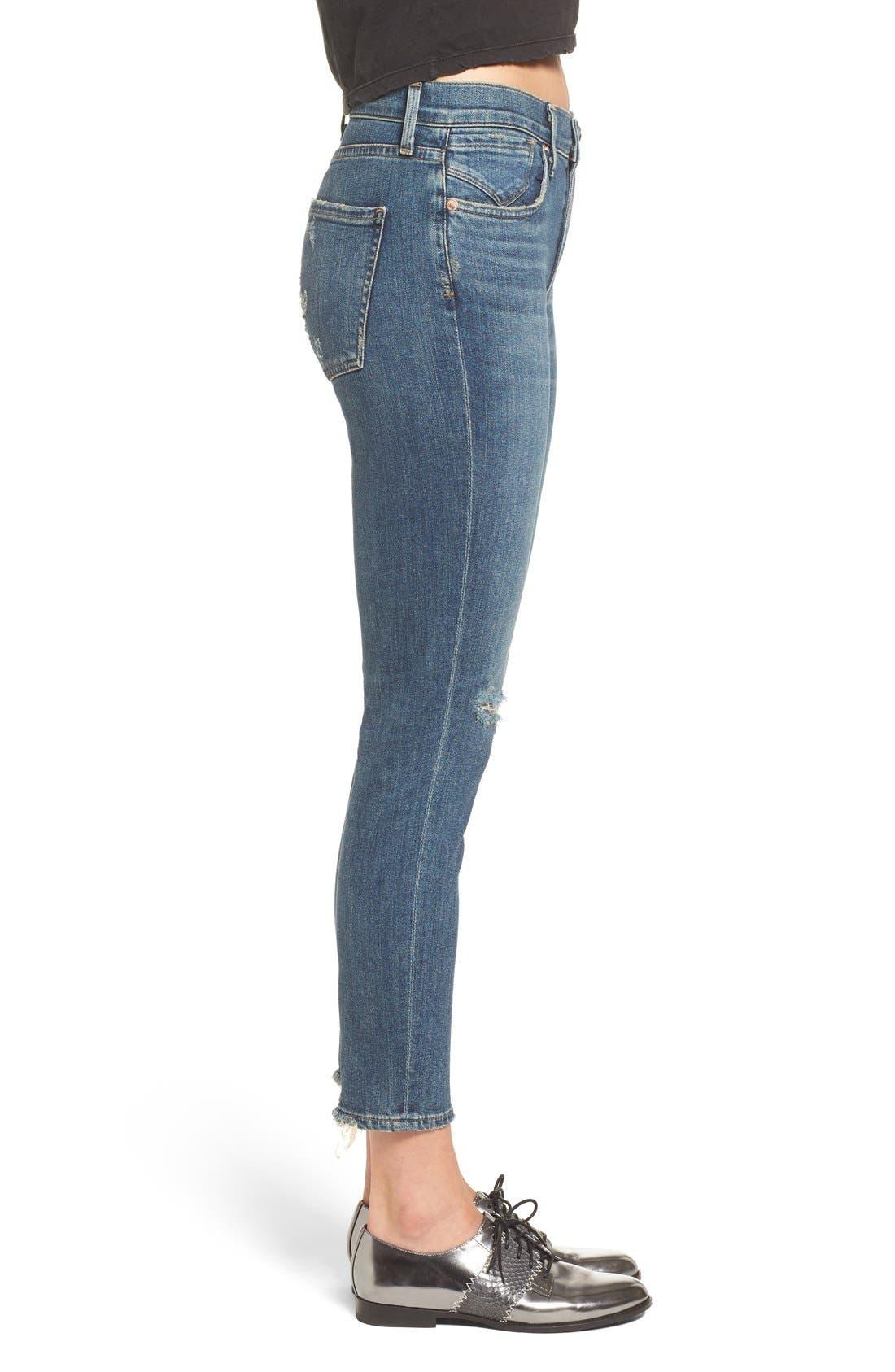 Alternate Image 3  - AGOLDE Sophie Crop High Rise Skinny Jeans (Santa Fe) (Women)