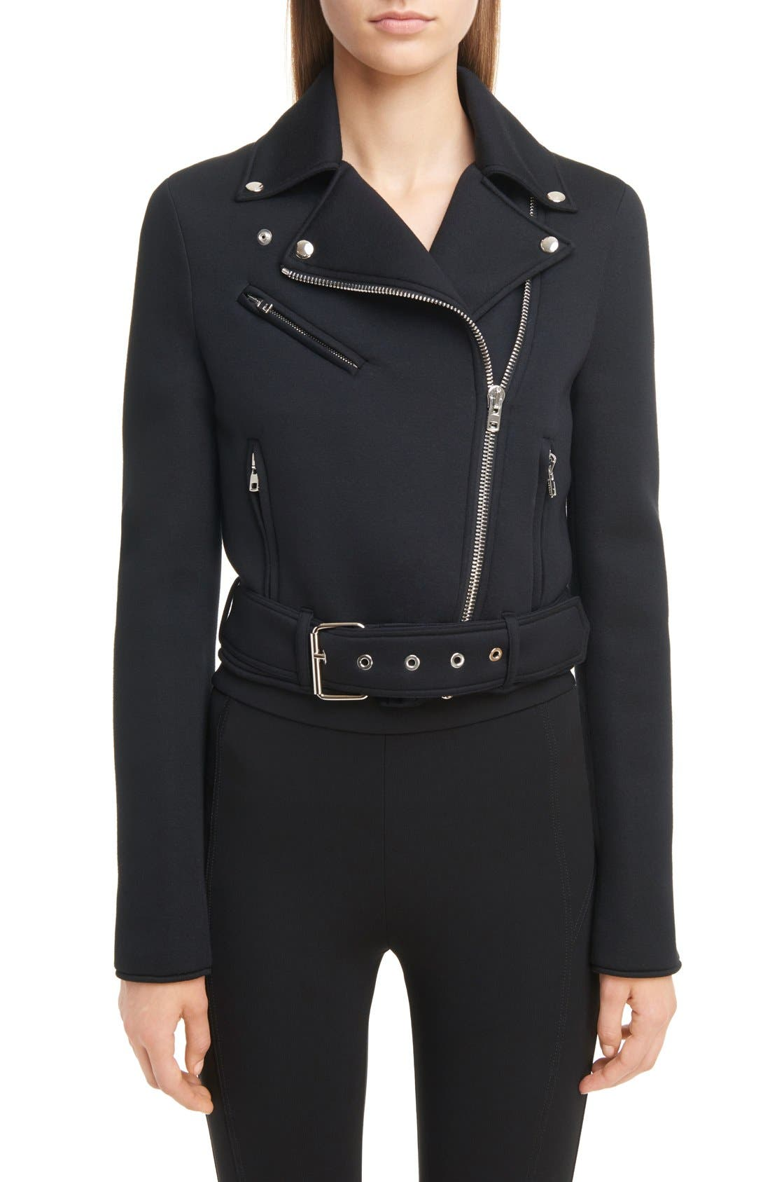 GIVENCHY Neoprene Moto Jacket
