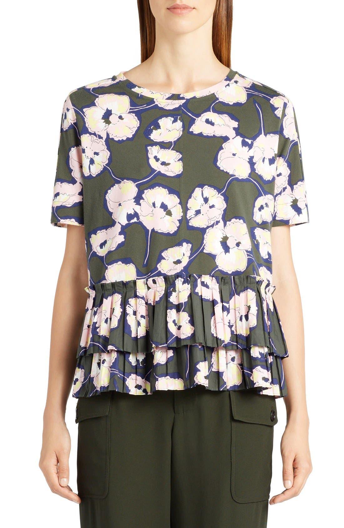 Main Image - Marni Whisper Print Cotton Jersey Tee