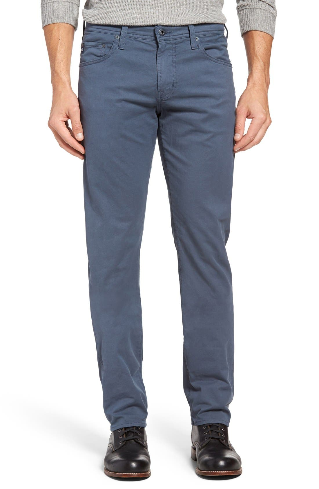 Alternate Image 1 Selected - AG 'Matchbox BES' Slim Fit Pants