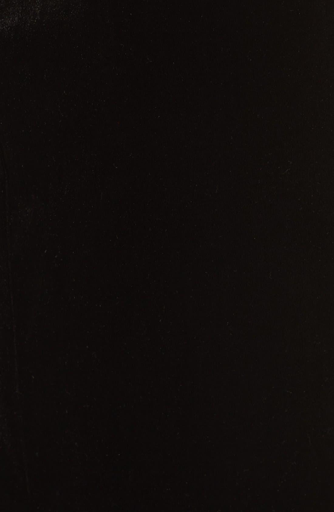 Alternate Image 5  - Bardot Raven Velvet Slipdress