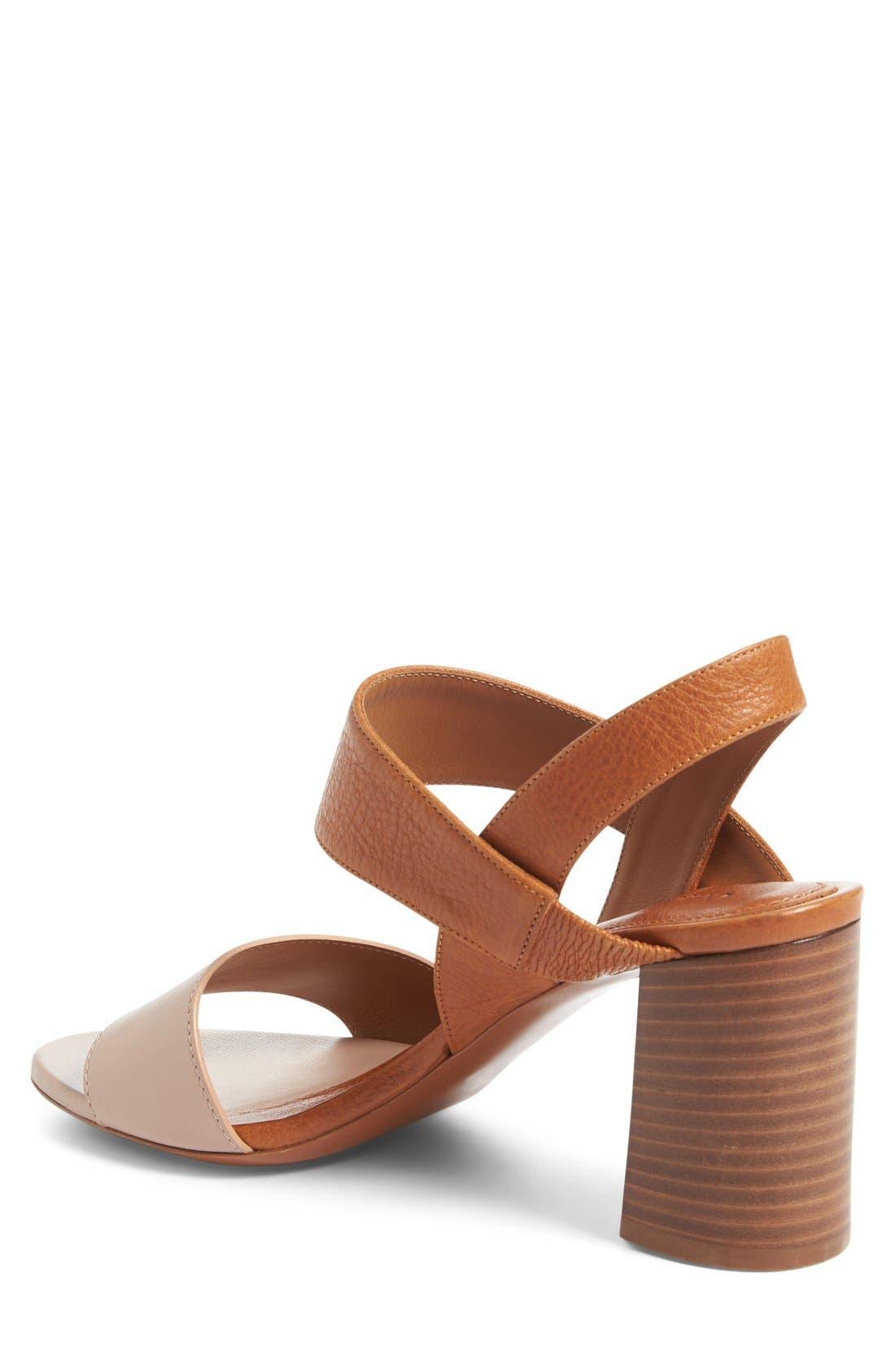 Alternate Image 2  - Chloé Mia Block Heel Sandal (Women)