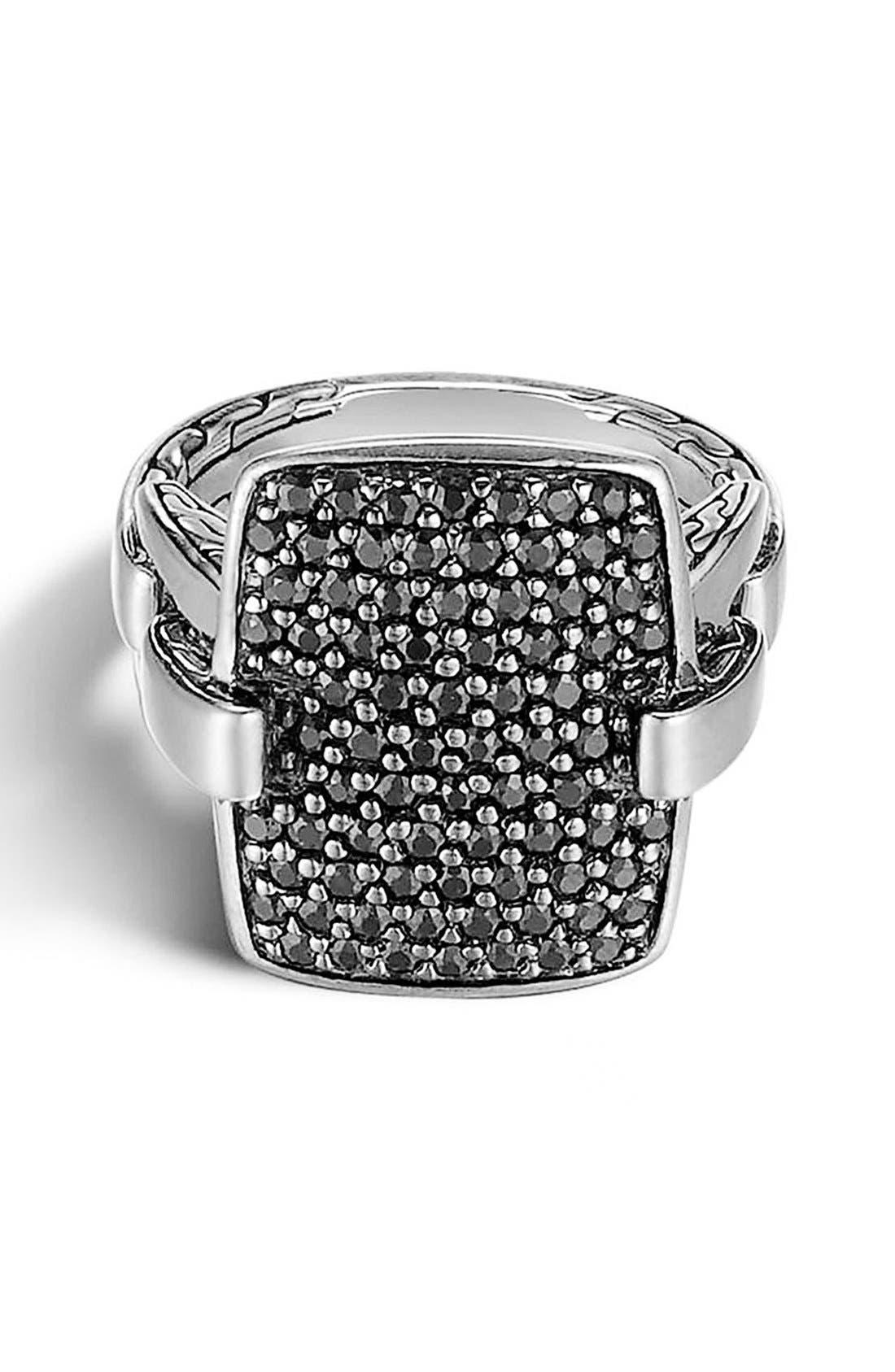 Main Image - John Hardy 'Classic Chain' Rectangular Ring