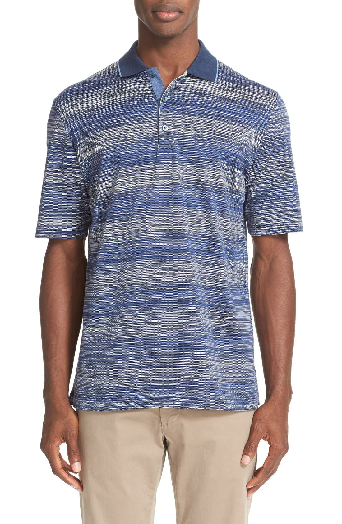 PAUL & SHARK Regular Fit Stripe Polo