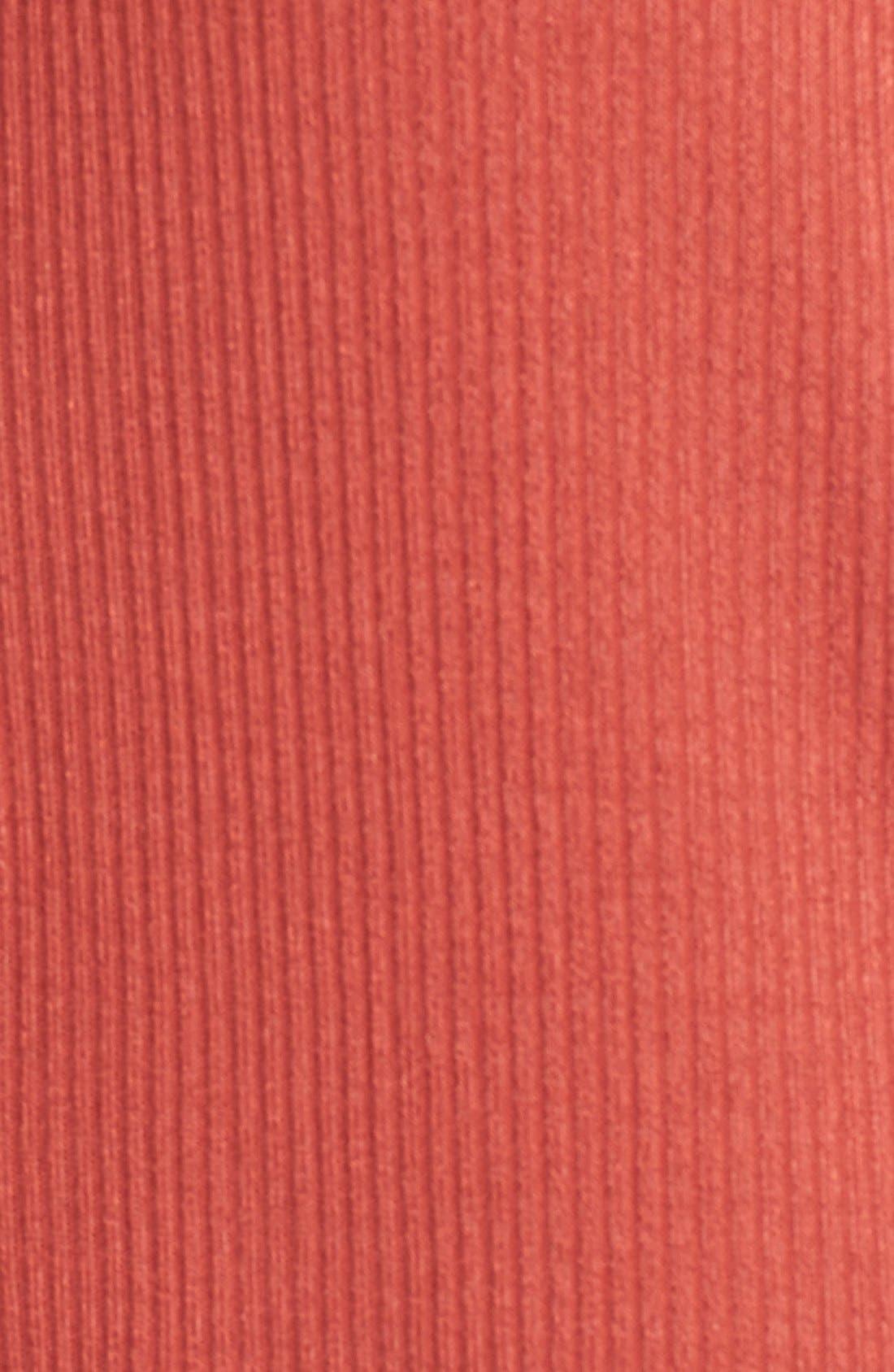 Alternate Image 5  - Sun & Shadow Mock Neck Knit Tunic