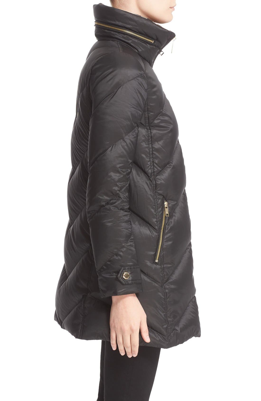 Alternate Image 5  - Burberry Eastwick Chevron Quilted Coat