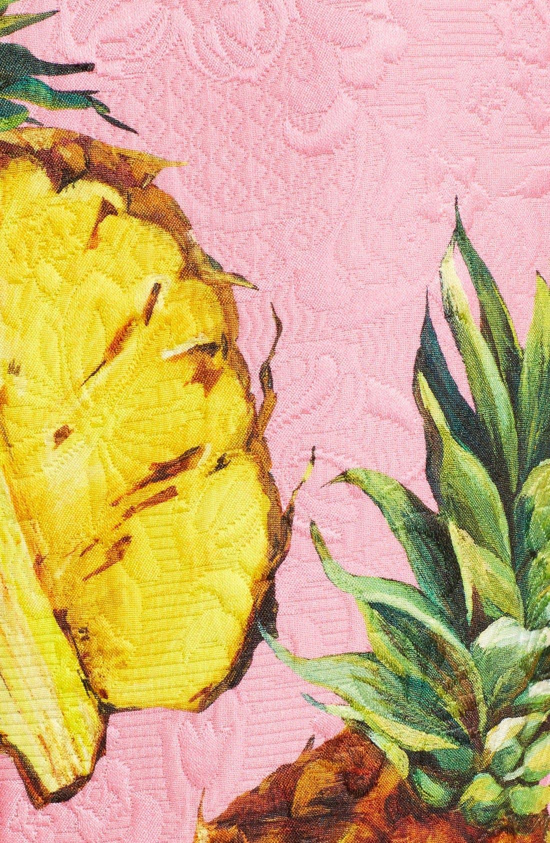 Alternate Image 3  - Dolce&Gabbana Pineapple Jacquard Shift Dress