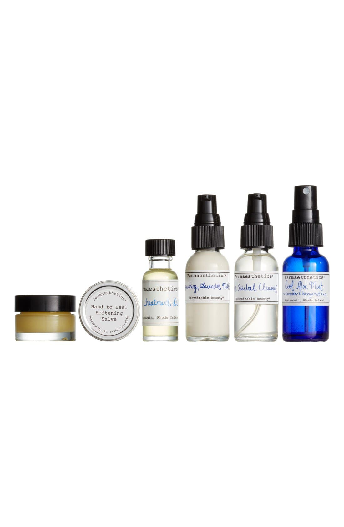 Farmaesthetics Six-Piece Travel Set