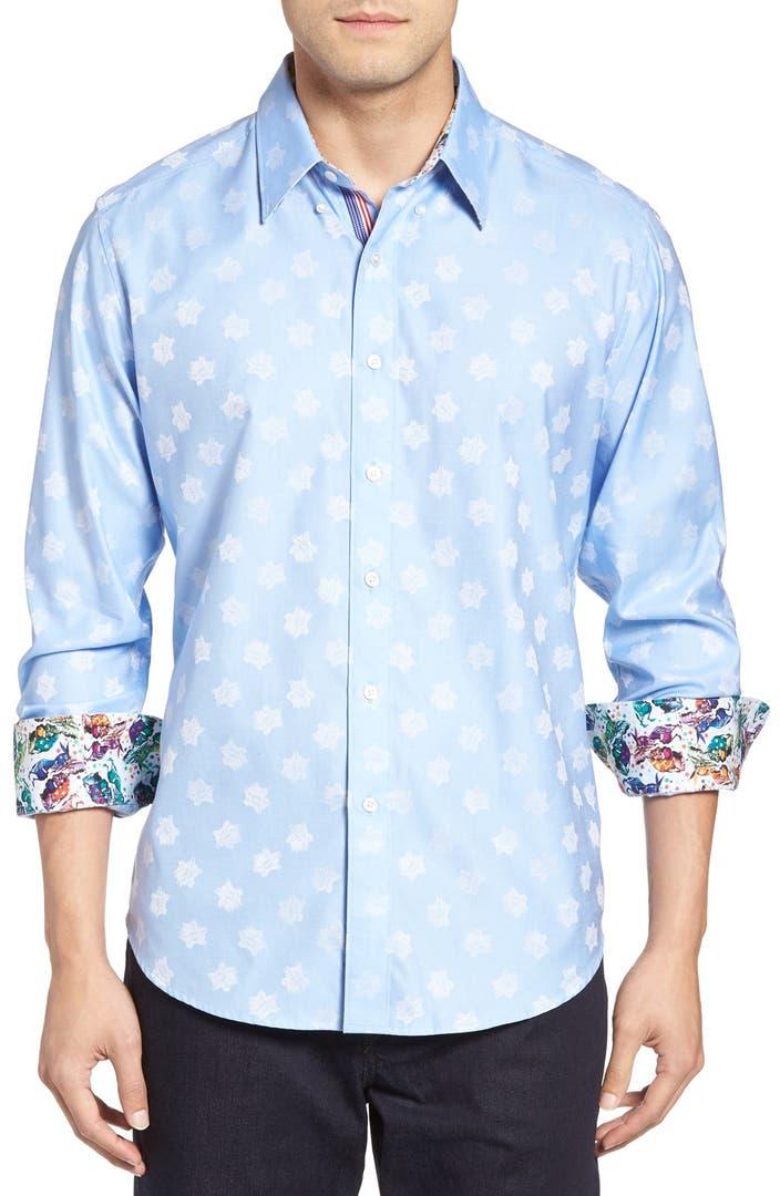 Robert graham republican classic fit sport shirt nordstrom for Robert graham sport shirt