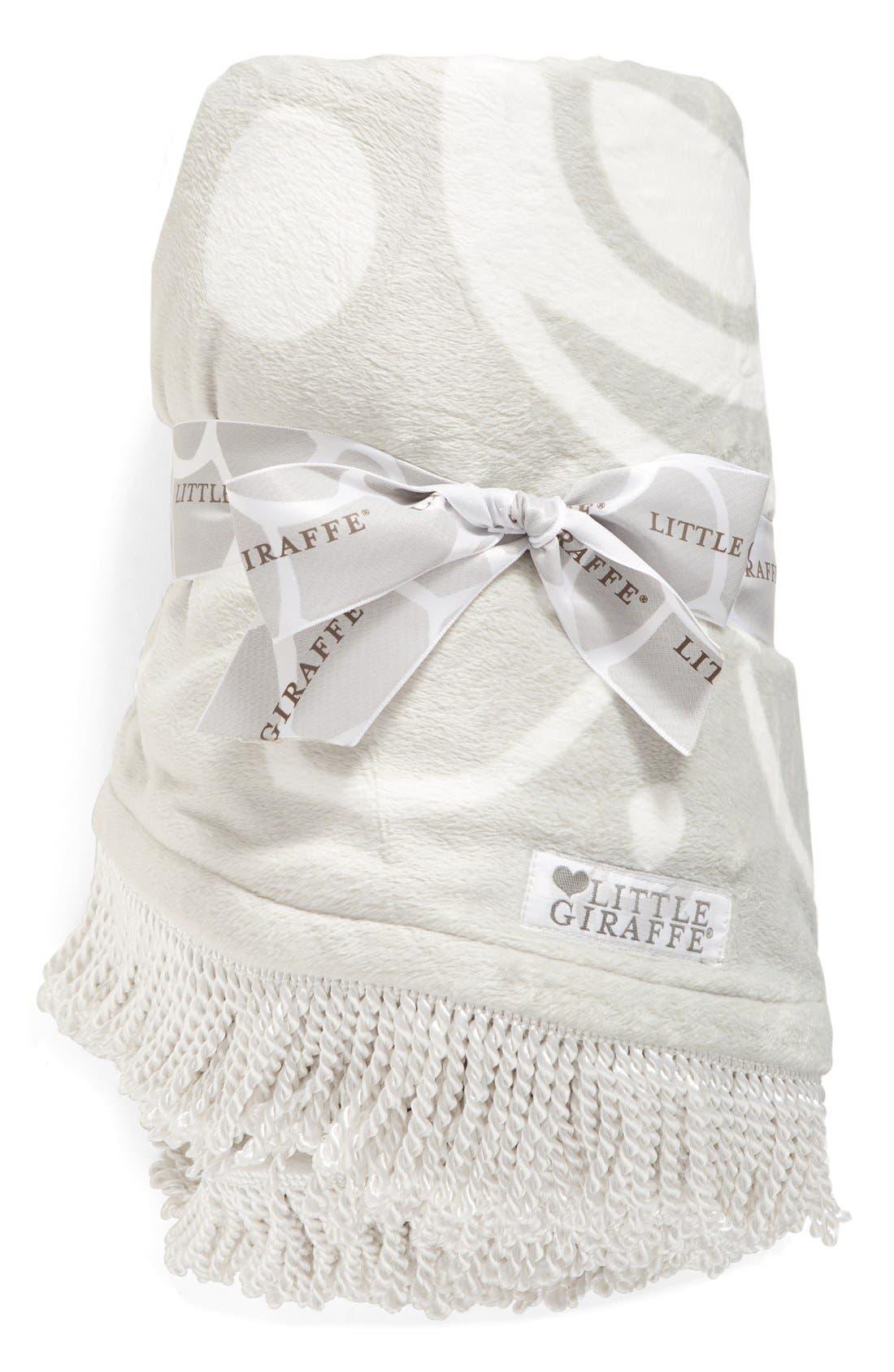 Alternate Image 1 Selected - Little Giraffe Bliss™ Round Blanket