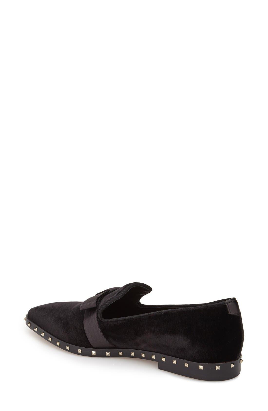 Alternate Image 2  - Valentino Studded Soul Loafer (Women)