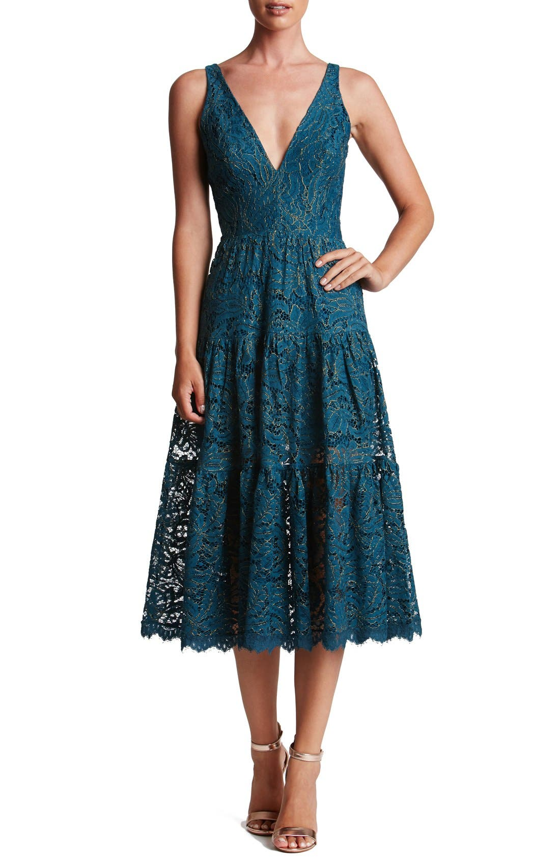 Dress the Population Madelyn Midi Dress