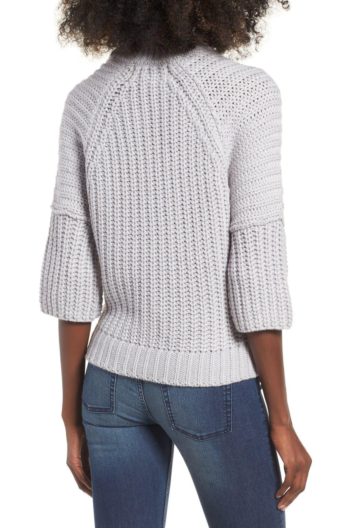 Alternate Image 2  - J.O.A. Rib Knit Sweater