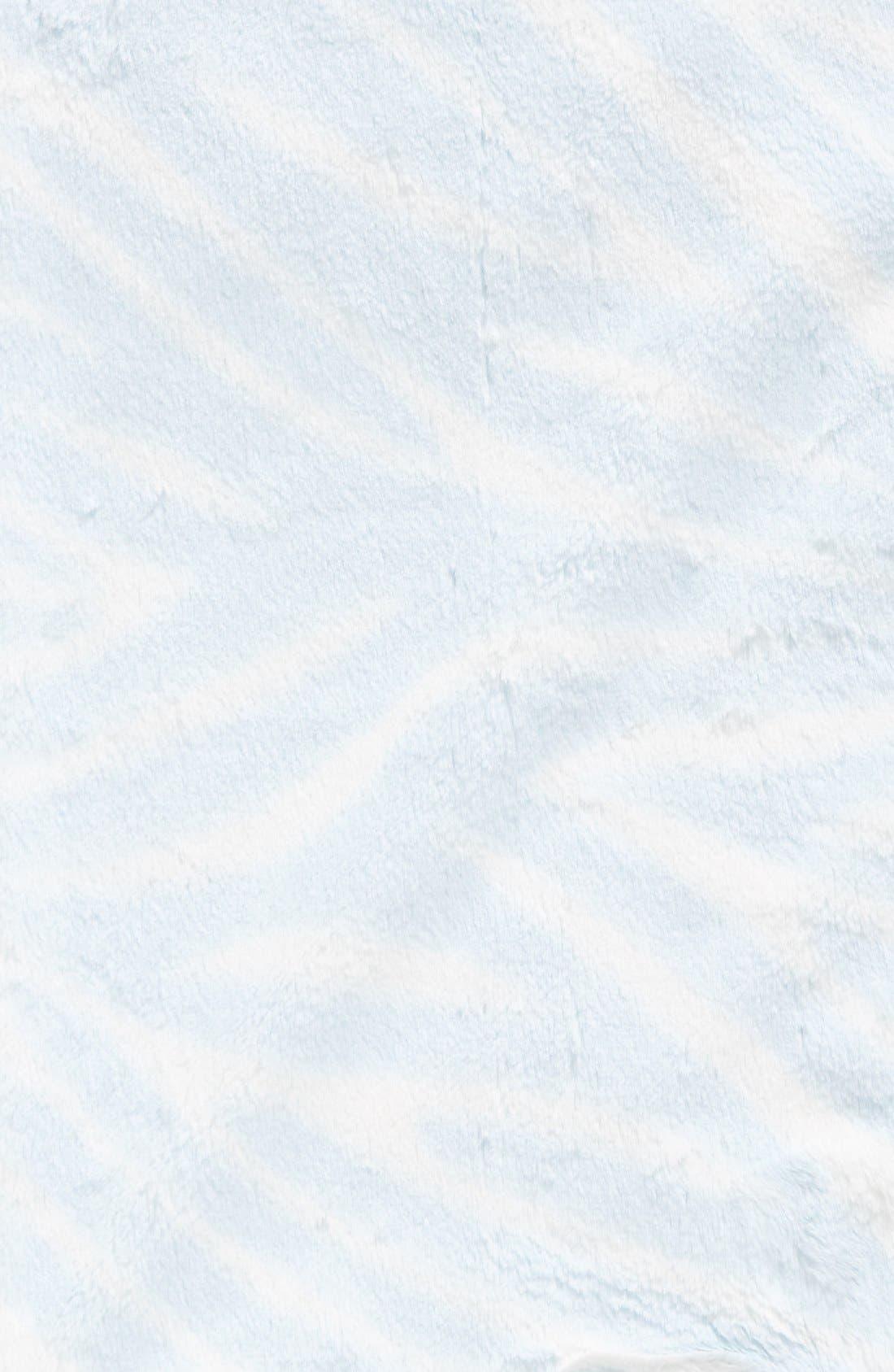Alternate Image 2  - Little Giraffe Luxe™ Zebra Print Blanket