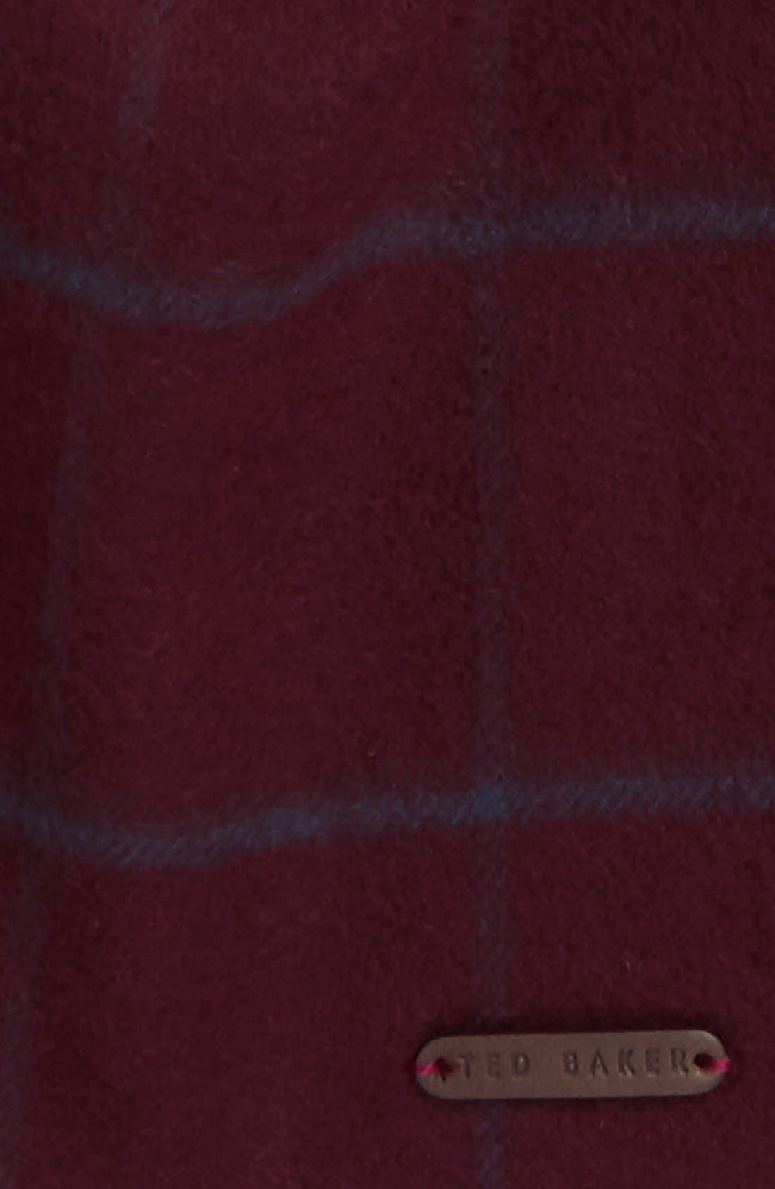 Alternate Image 3  - Ted Baker London Flint Check Scarf