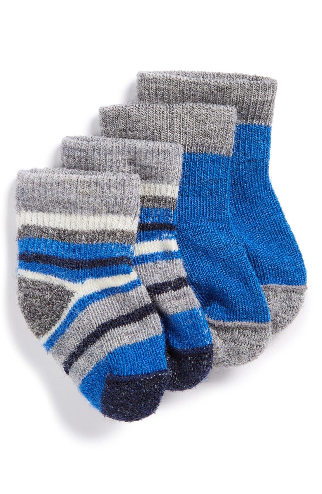 Smartwool Cozy Baby 2 Pack Bootie Socks Baby