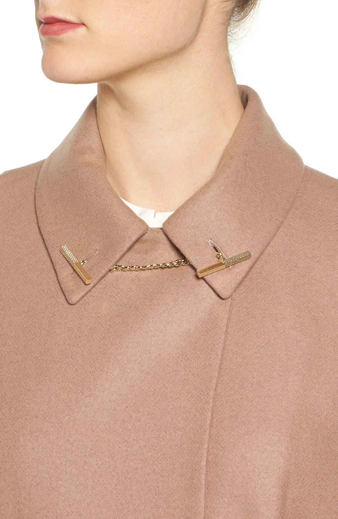 Alternate Image 4  - Ted Baker London Leisl Chain Collar Cape