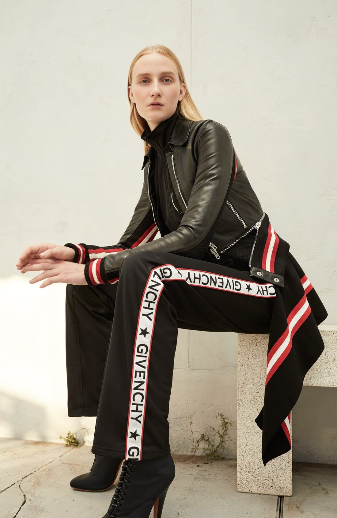 Alternate Image 9  - Givenchy Logo Track Pants
