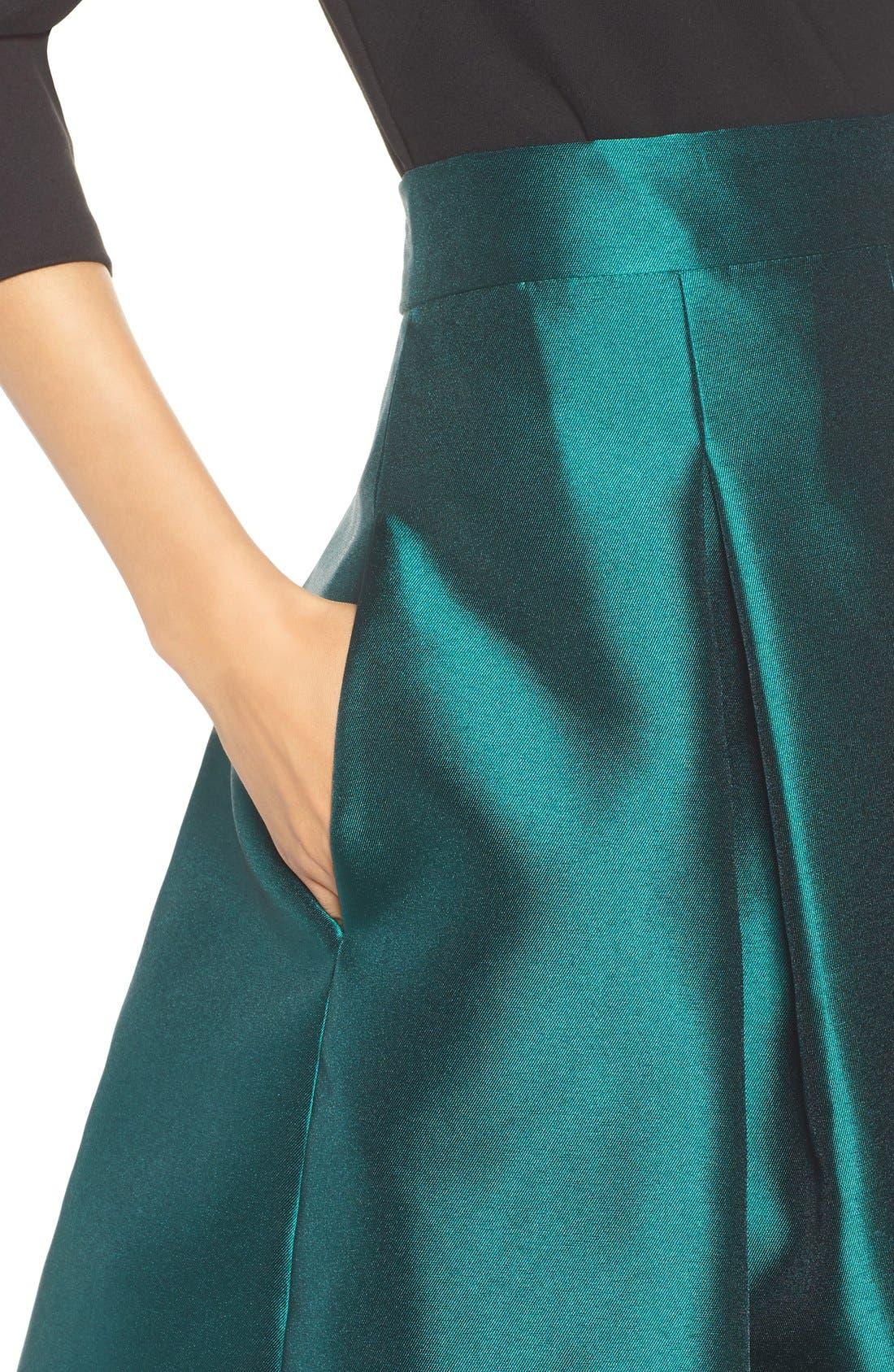 Alternate Image 6  - Eliza J Release Pleat Full Skirt