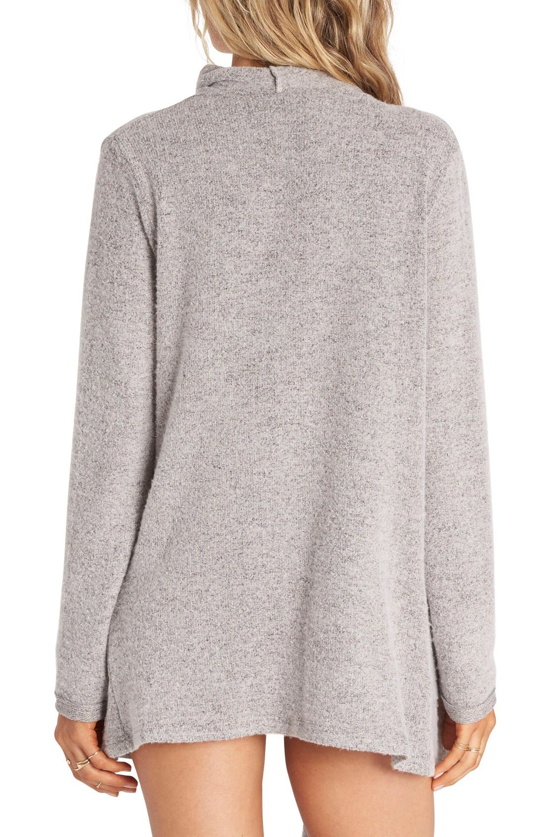 Alternate Image 2  - Billabong Make A Bet Knit Cardigan
