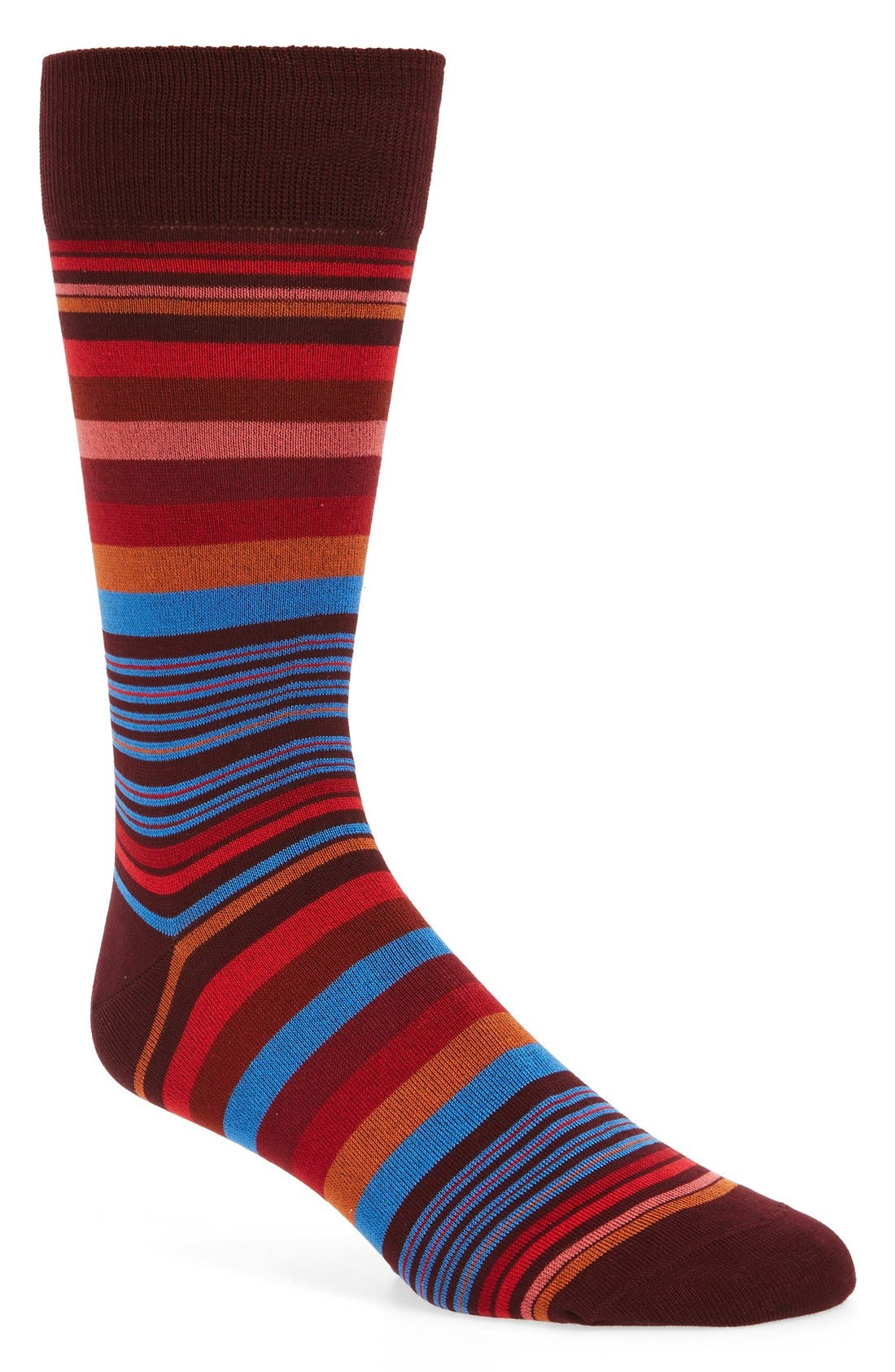 BUGATCHI 'Deconstructed Rugby Stripe' Socks