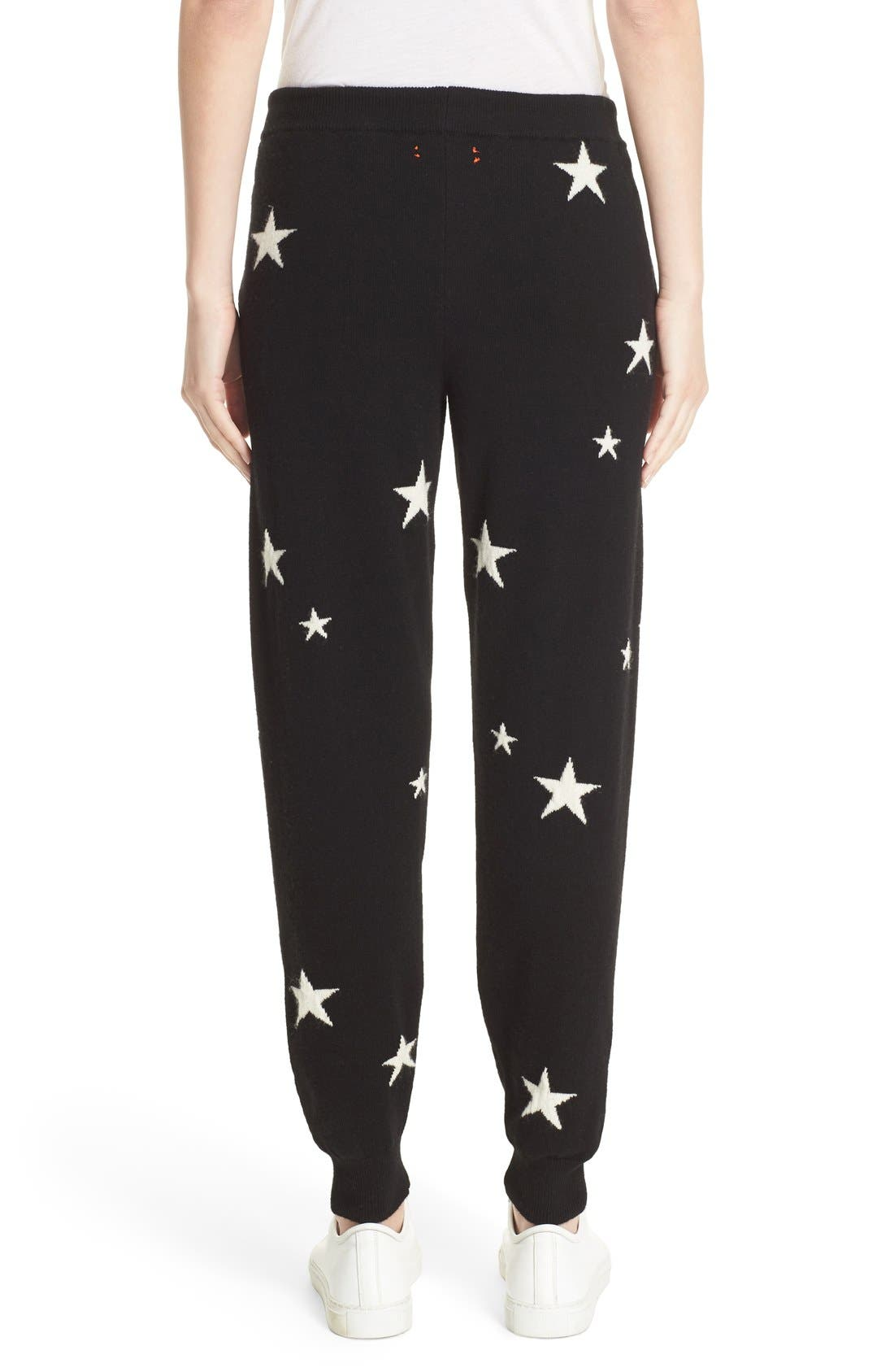 Alternate Image 3  - Chinti and Parker Star Knit Cashmere Track Pants