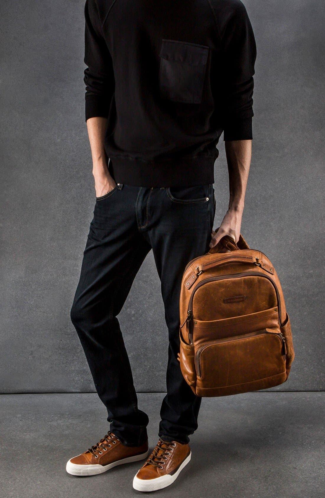 Alternate Image 2  - Frye 'Logan' Leather Backpack