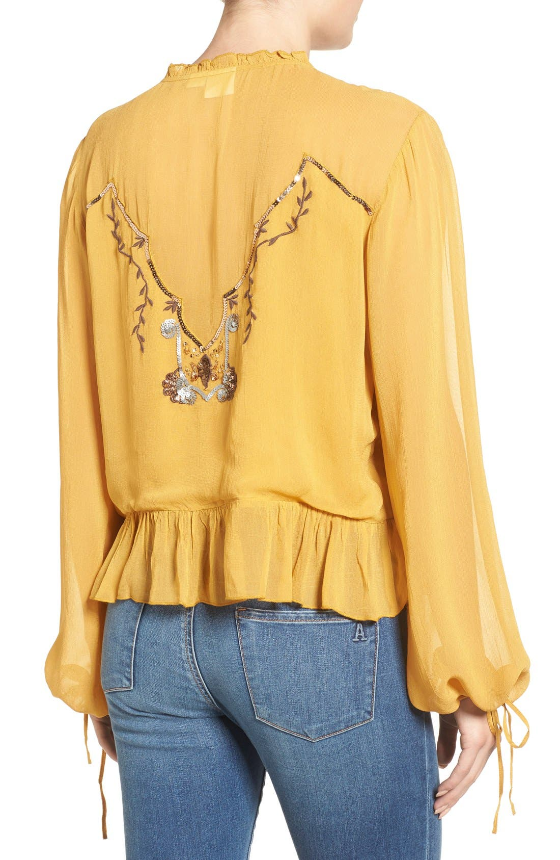 Alternate Image 2  - Somedays Lovin Embellished Blouse