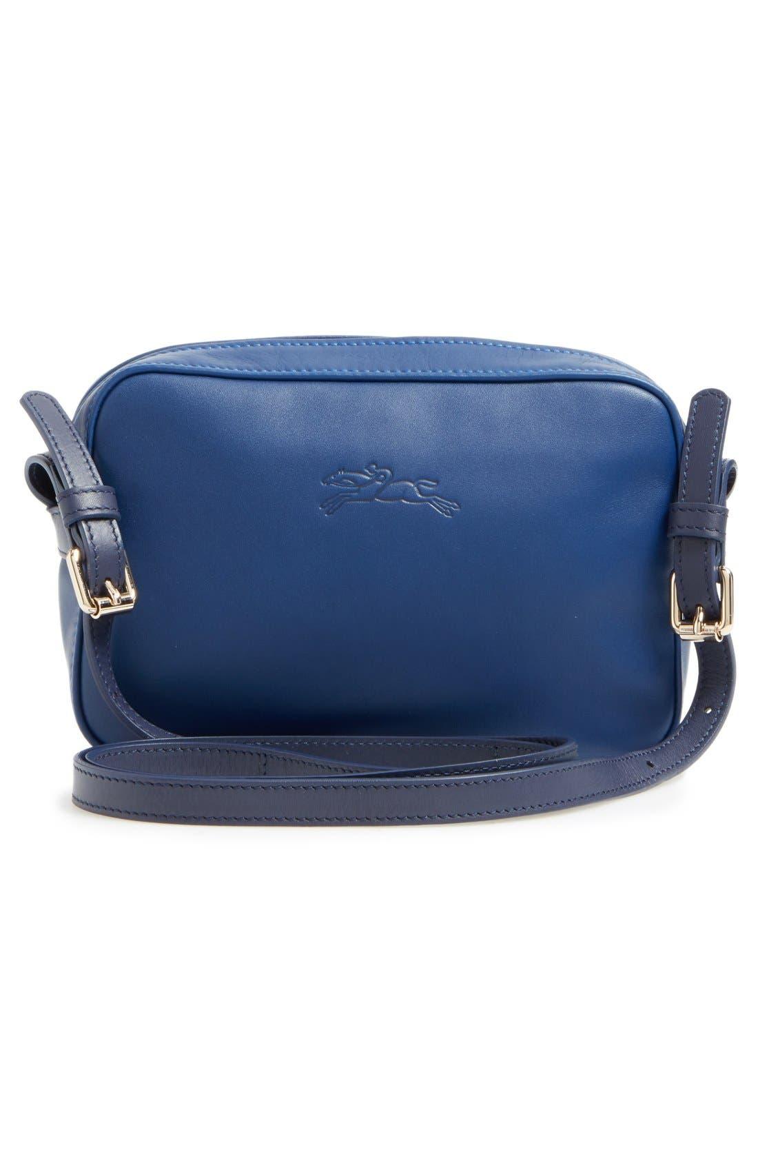 Alternate Image 2  - Longchamp '2.0' Two-Tone Leather Crossbody Bag