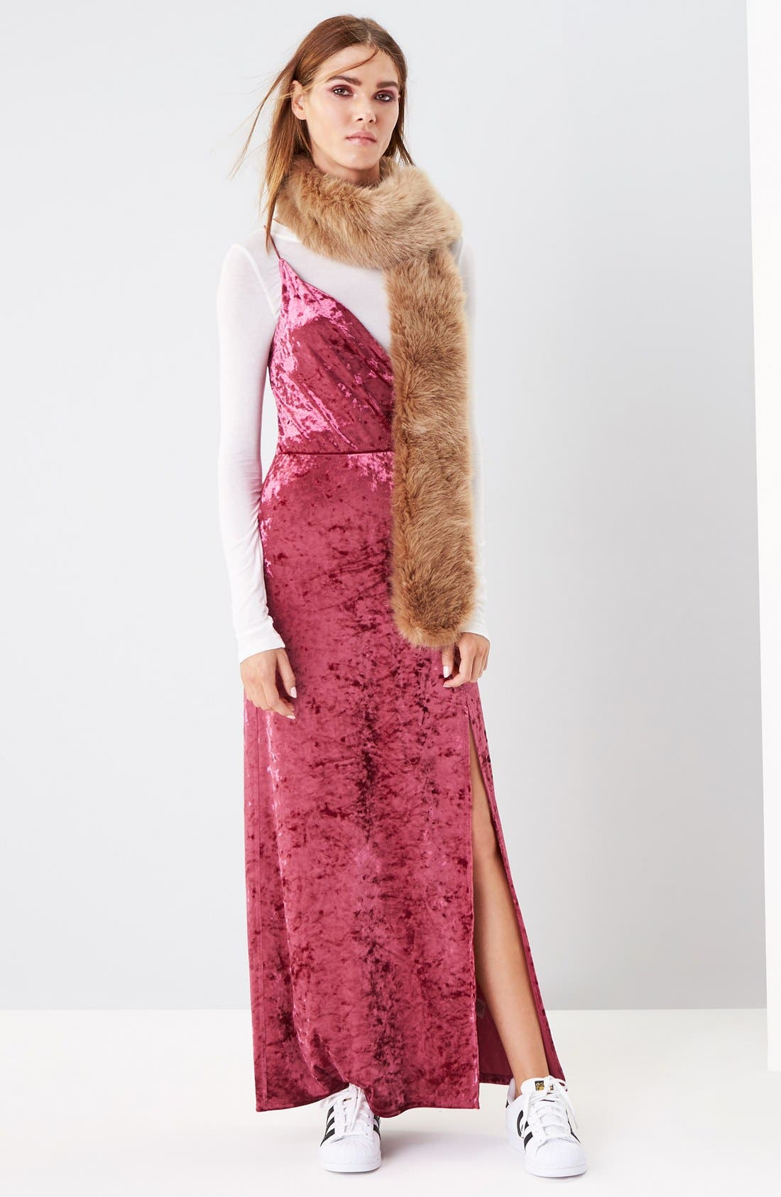 Alternate Image 2  - Leith Faux Fur Stole