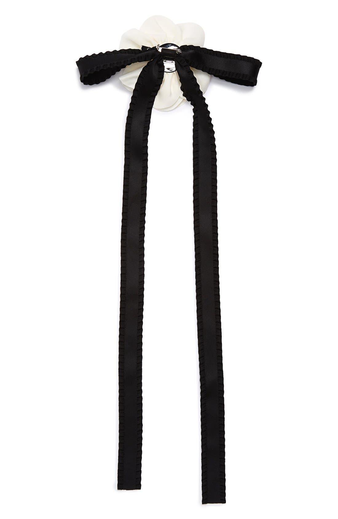 Alternate Image 3  - Cara Flower & Bow Pin