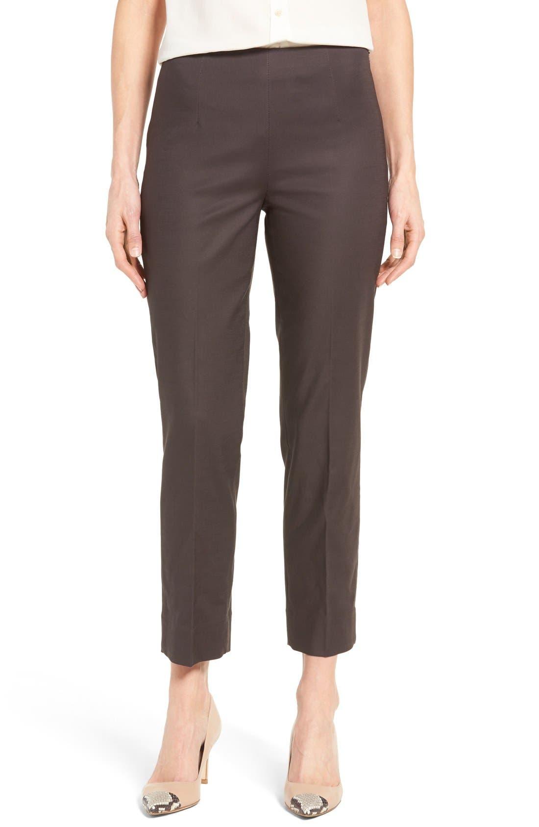 NIC+ZOE 'Perfect' Side Zip Ankle Pants
