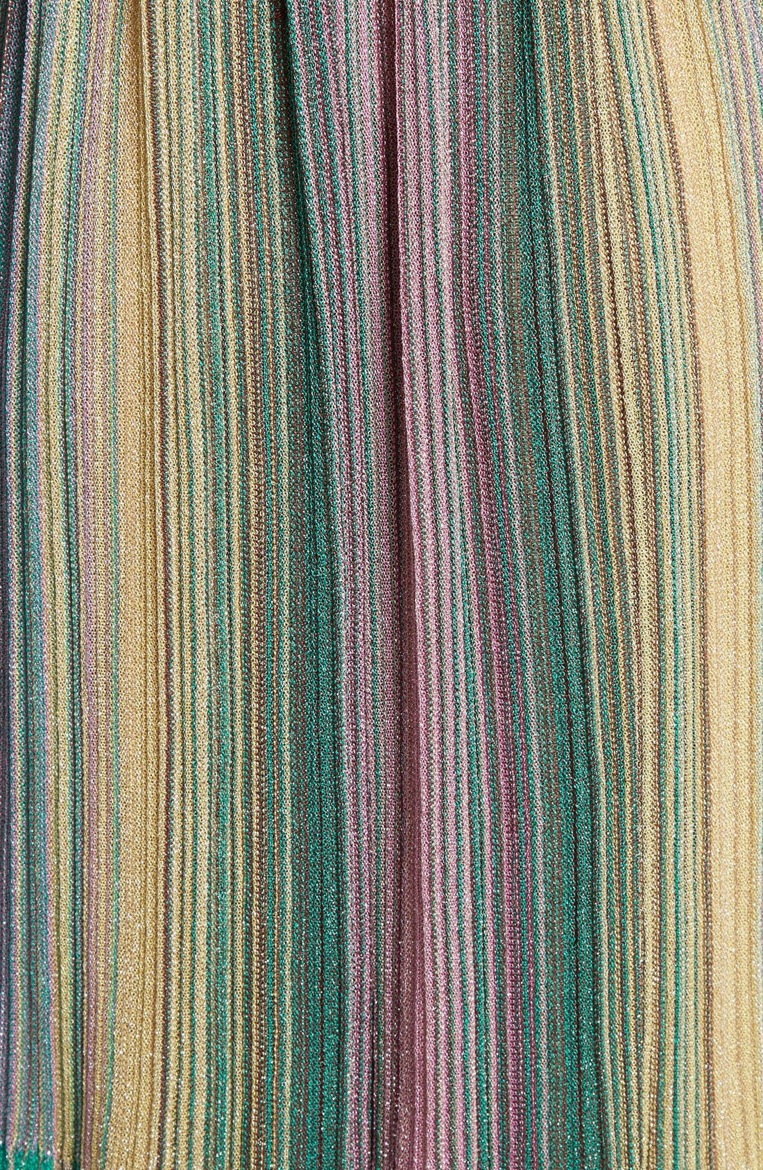 Alternate Image 5  - M Missoni Plissé Multicolor Maxi Dress