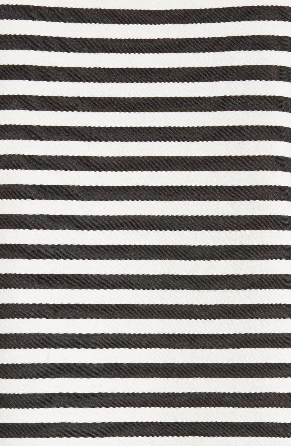 Alternate Image 5  - AMO Seaton Stripe Tee