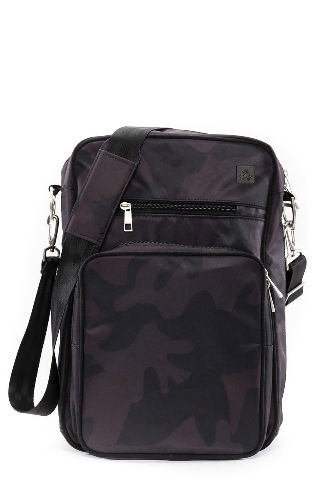 Ju-Ju-Be Helix Onyx Collection Messenger Diaper Bag