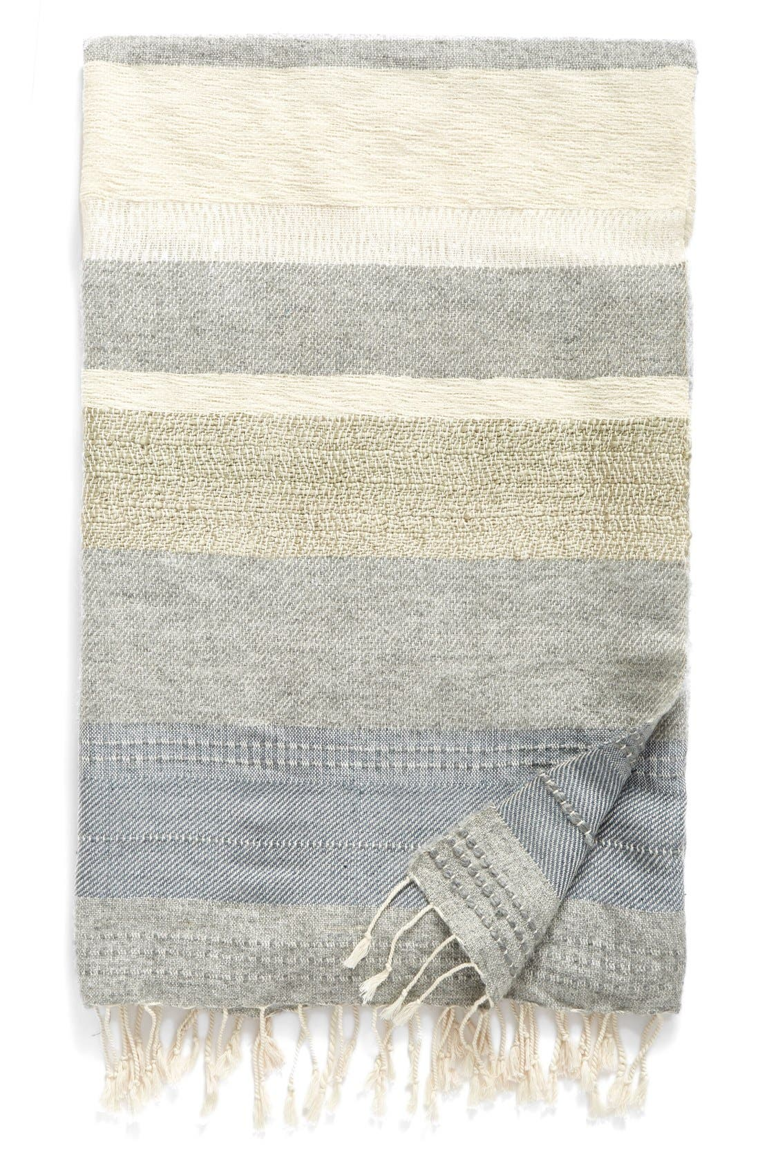 Alternate Image 1 Selected - Nordstrom at Home Multi Stitch Throw Blanket