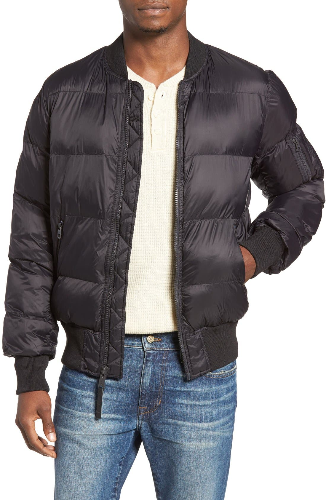 ALPHA INDUSTRIES Alpha MA-1 Echo Quilted Jacket