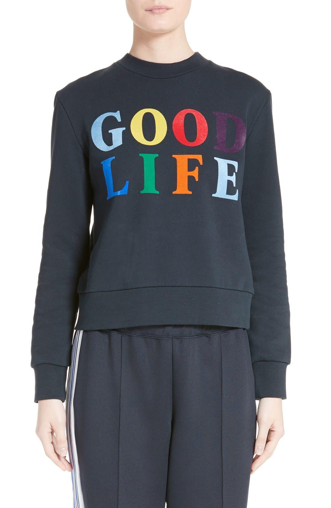 ETRE CECILE être cécile Good Life Graphic Sweatshirt