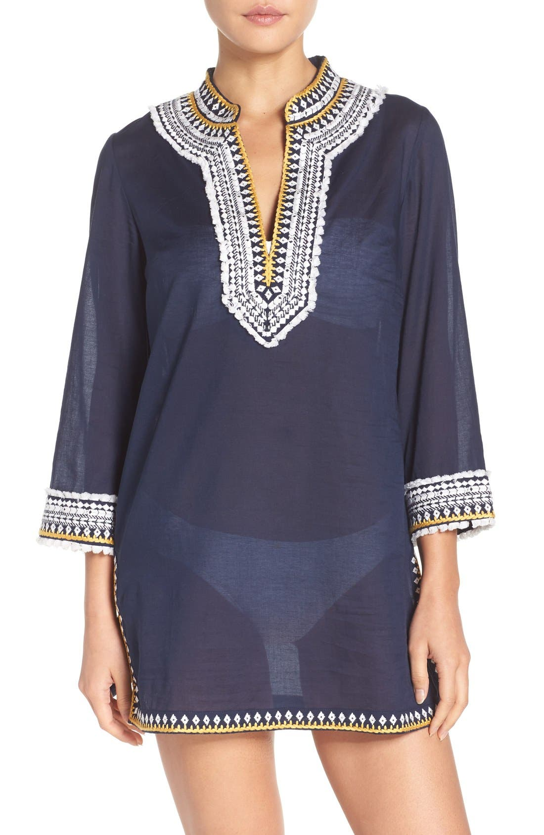 Tory Burch Fringe Cover-Up Tunic