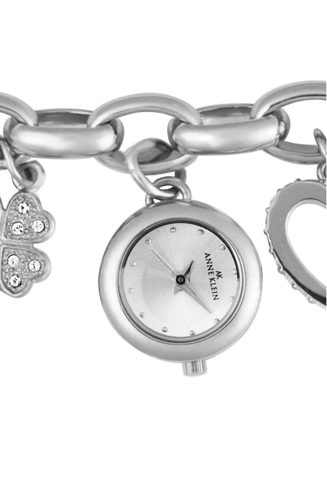 Alternate Image 2  - Anne Klein Charm Bracelet Watch