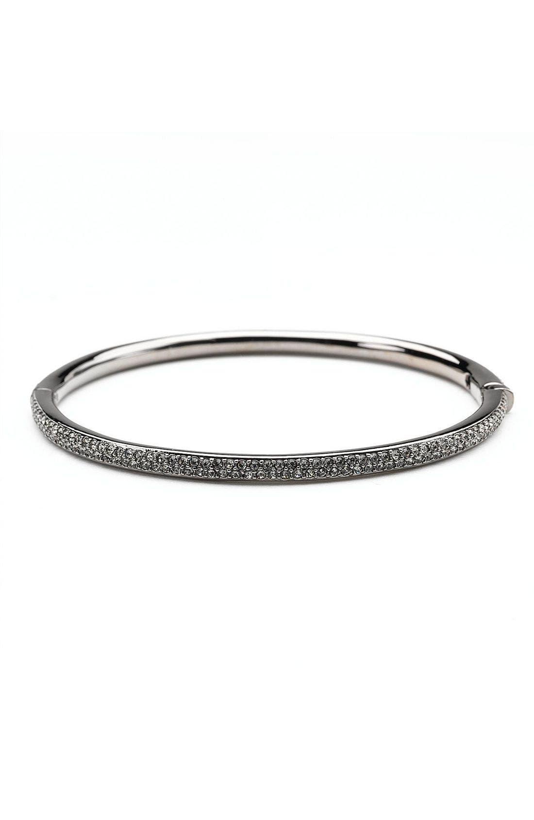Alternate Image 1 Selected - Nadri Pavé Bangle Bracelet