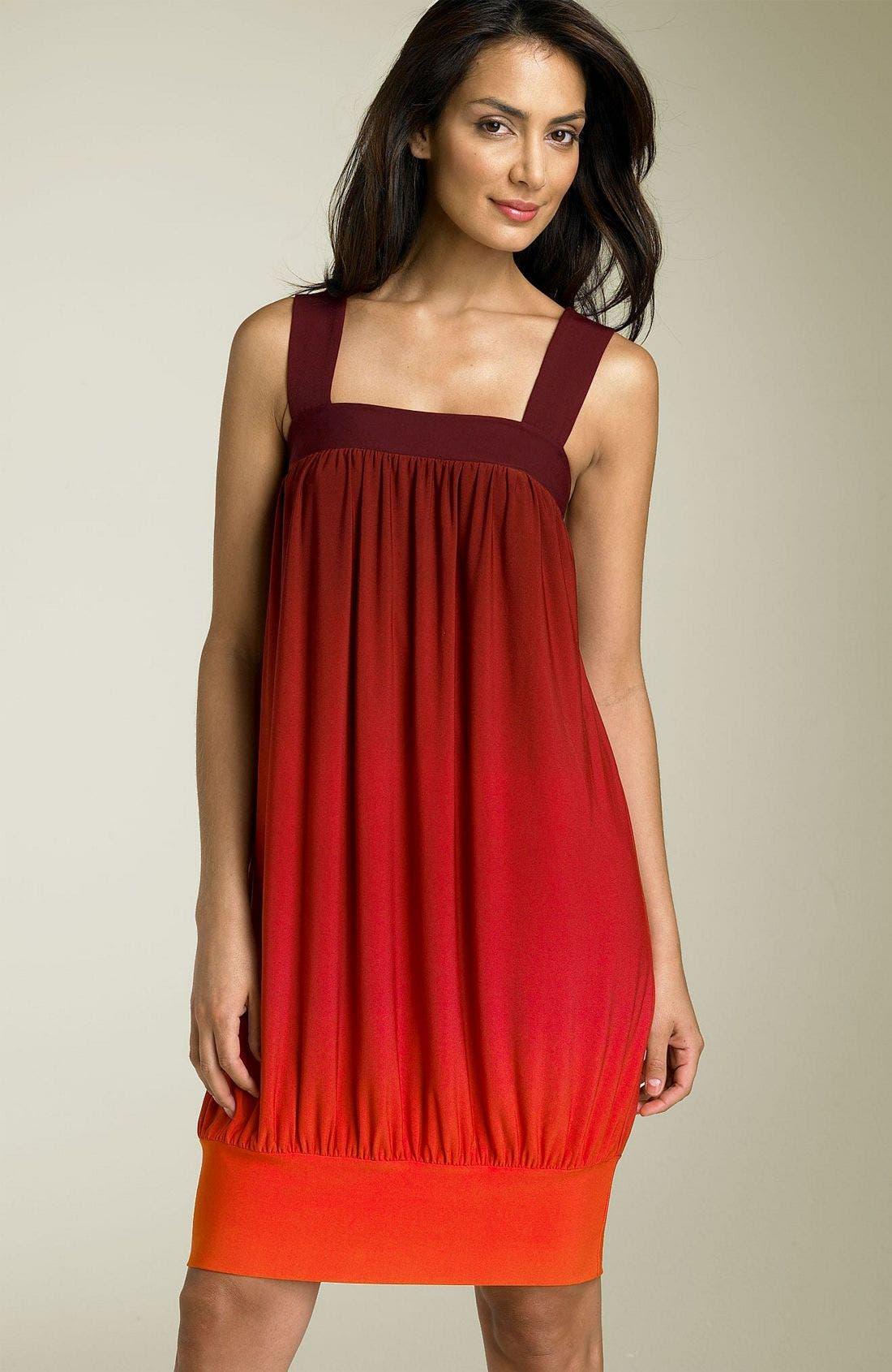Alternate Image 1 Selected - Donna Morgan Sleeveless Ombré Dress