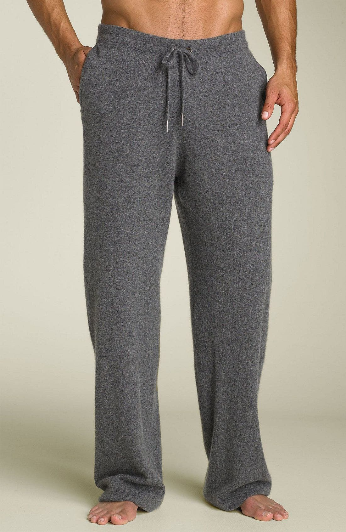 Alternate Image 1 Selected - American Essentials Cashmere Drawstring Pants