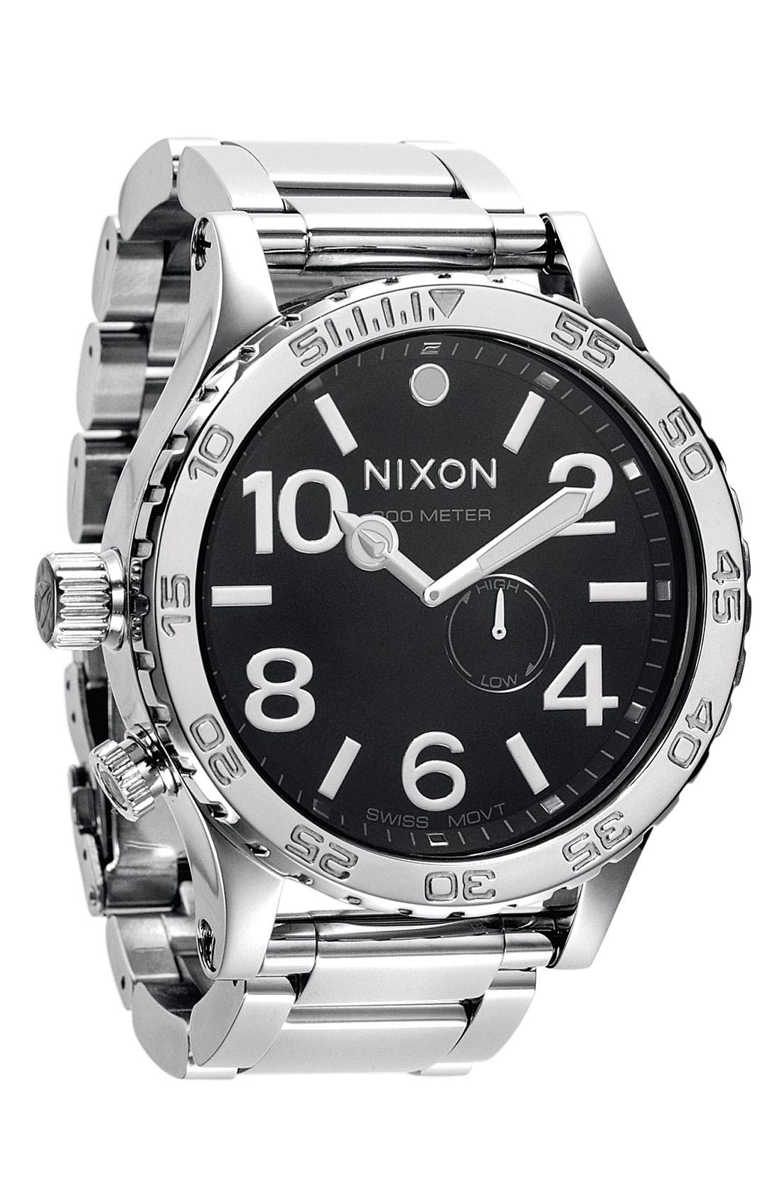 Alternate Image 1 Selected - Nixon 'The 51-30' Bracelet Watch